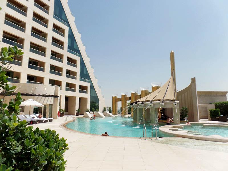Cool Dip, The Amazing Pool at Raffles Dubai