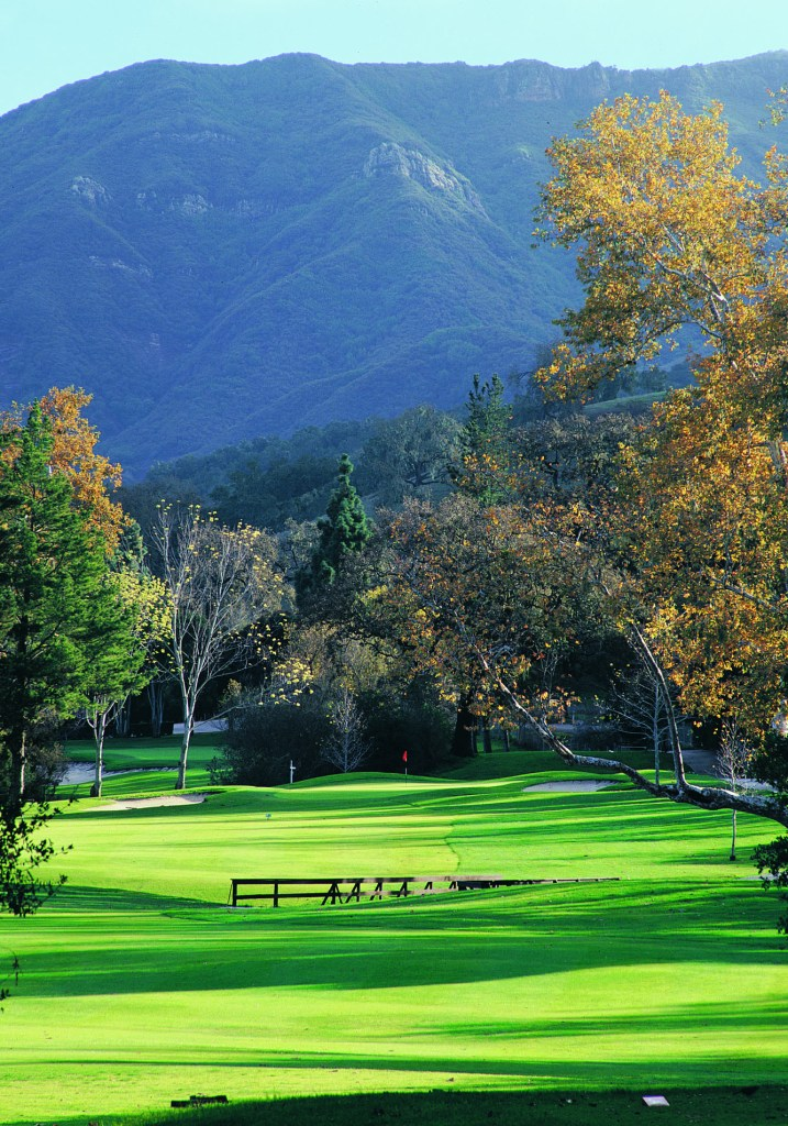 One of two golf courses a the Alisal