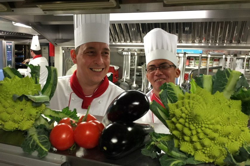 Friendly chefs happy to make healthy substitutes