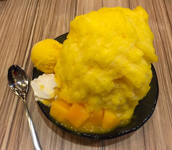 Ice Monster's refreshing mango dessert