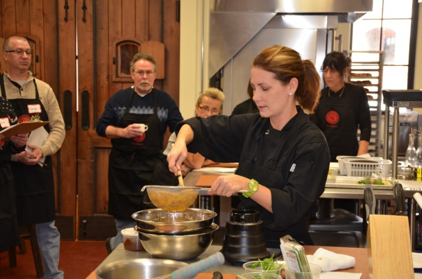 Cooking class at the Gervasi Vineyard