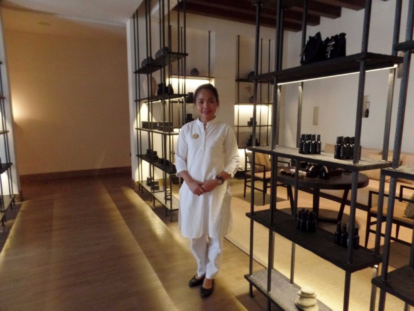 Ami, From Bali,  is the Resort's Comitted and Inspired Spa Director