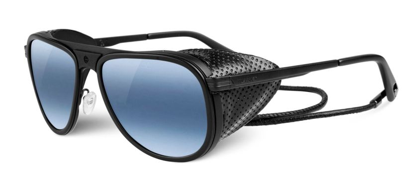 Vuarnet Glacier Eclipse Sunglasses with leather cord