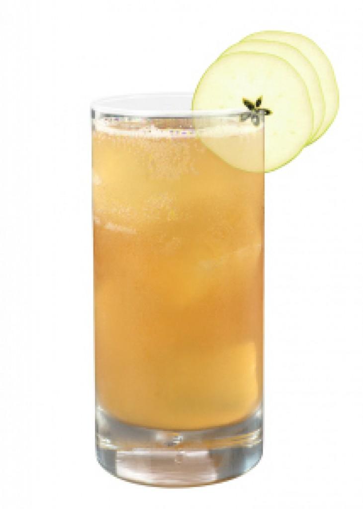 Basil-Apple Fizz