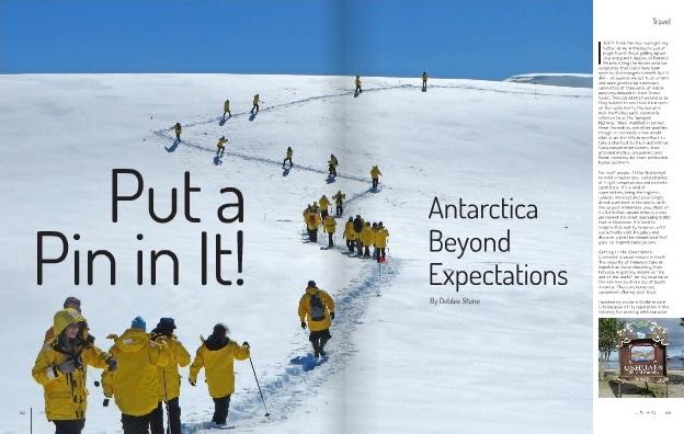 Debbie Stone Antarctica Beyhond Expectations