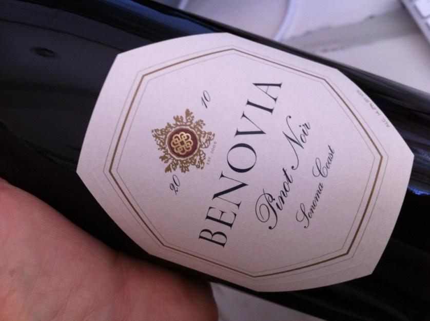 Benovia Pinot Noir