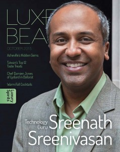 Luxe Beat Magazine Cover October 2015 Sreenath Sreenivasan