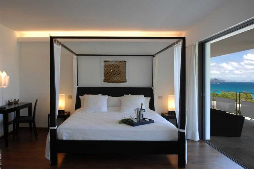 MATAJ Bedroom - Credit St. Barth Properties, Inc.