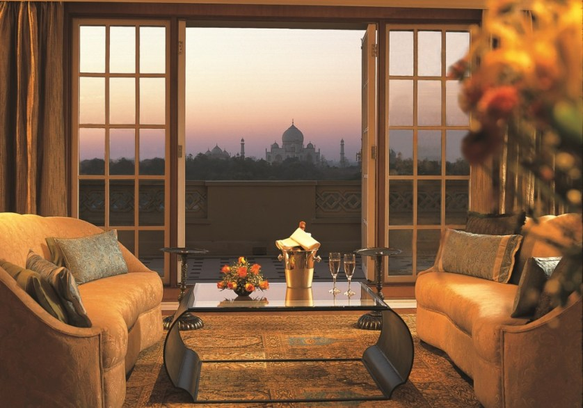 View from Oberoi Amarvilas in Agra_ Photo Credit Oberoi Hotels