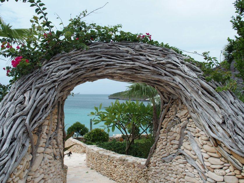 1648 stone entrance