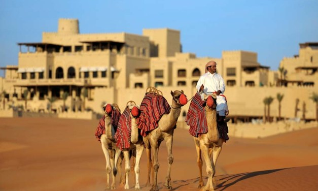 Qasr al Sarab by Anantara: A Castle in the Sand