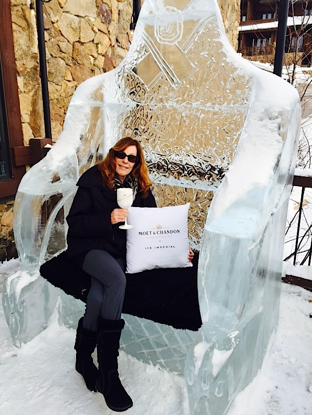 Chilling in my ice throne