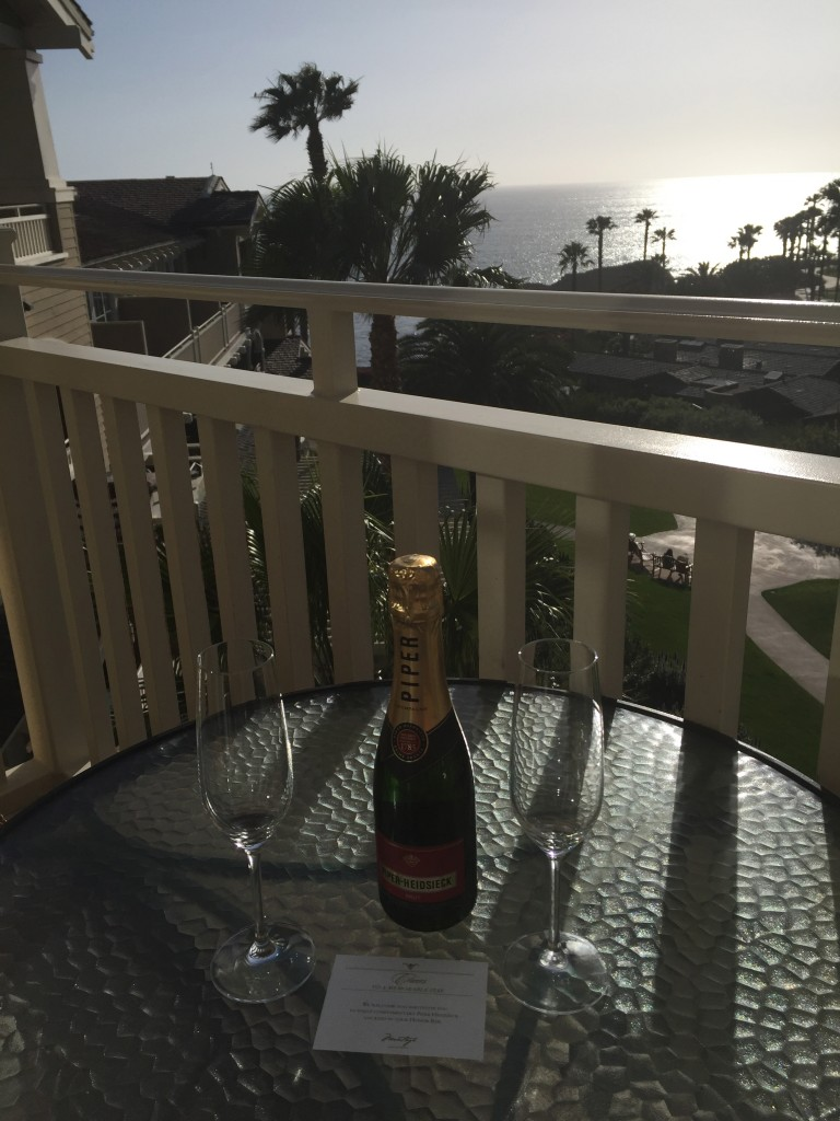 Enjoy a Champagne Sipping Sunset - Photo by Jill Weinlein