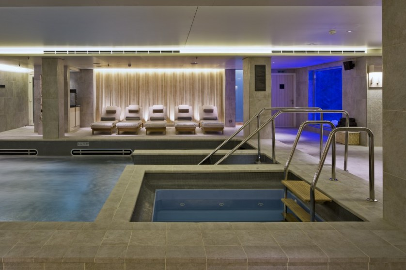 The spa aboard the Viking Star