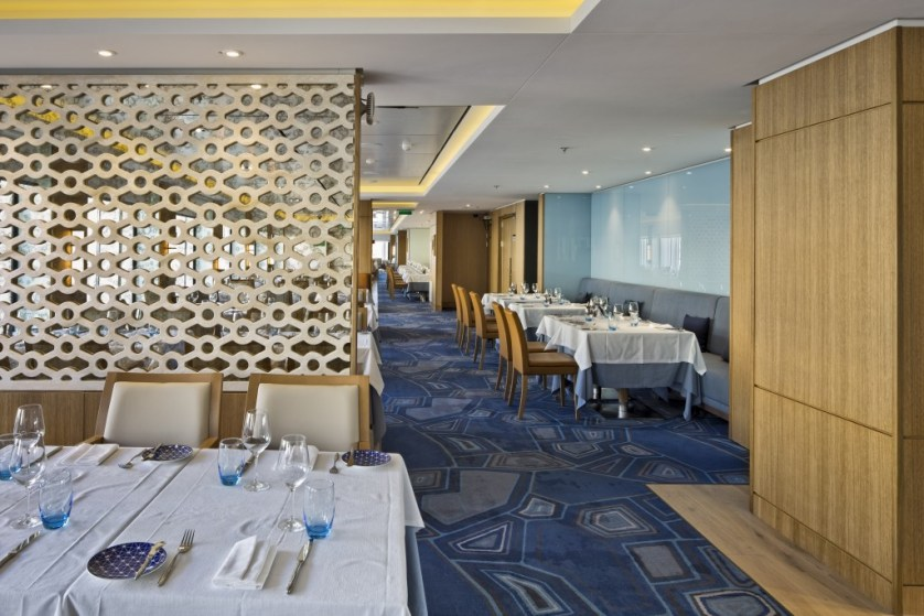 The Restaurant, the ship's main dining room