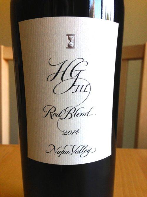 Hourglass Wines HGIII Red Blend