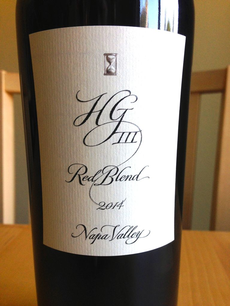 Hourglass Wines HGIII Red Blend