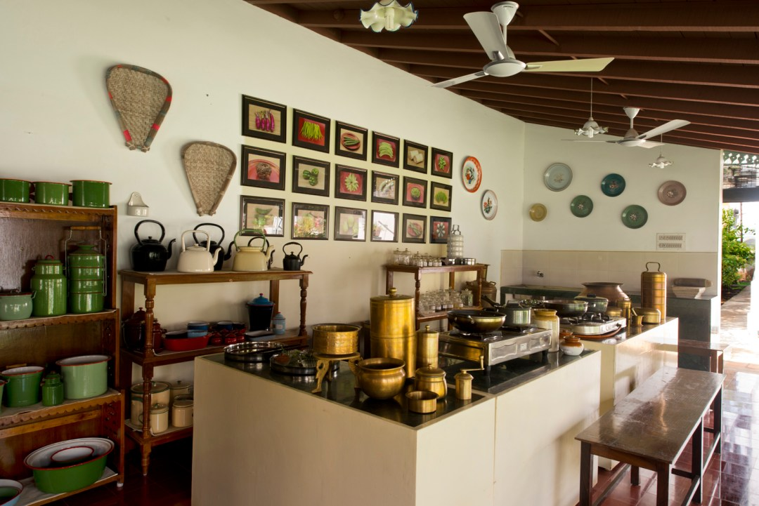 Cooking demonstration area