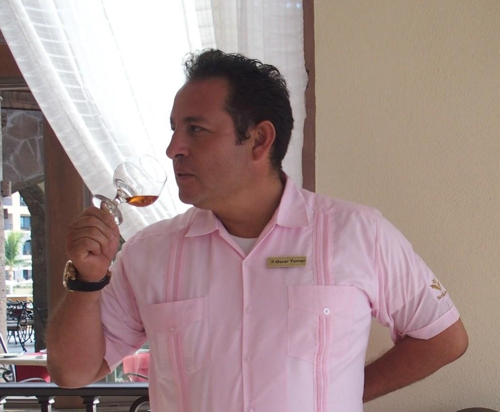 Oscar Torres Tequila Sommelier