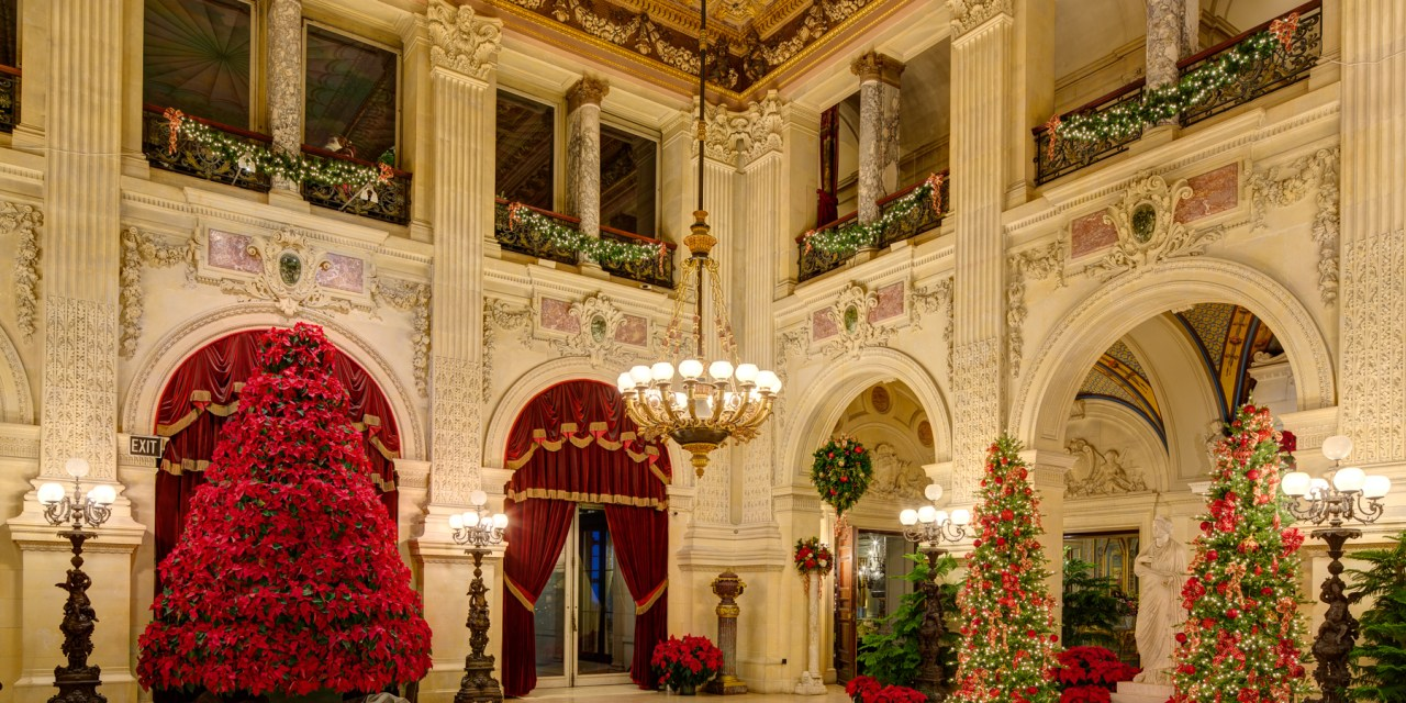Christmas At The Newport Mansions When The Gilded Age