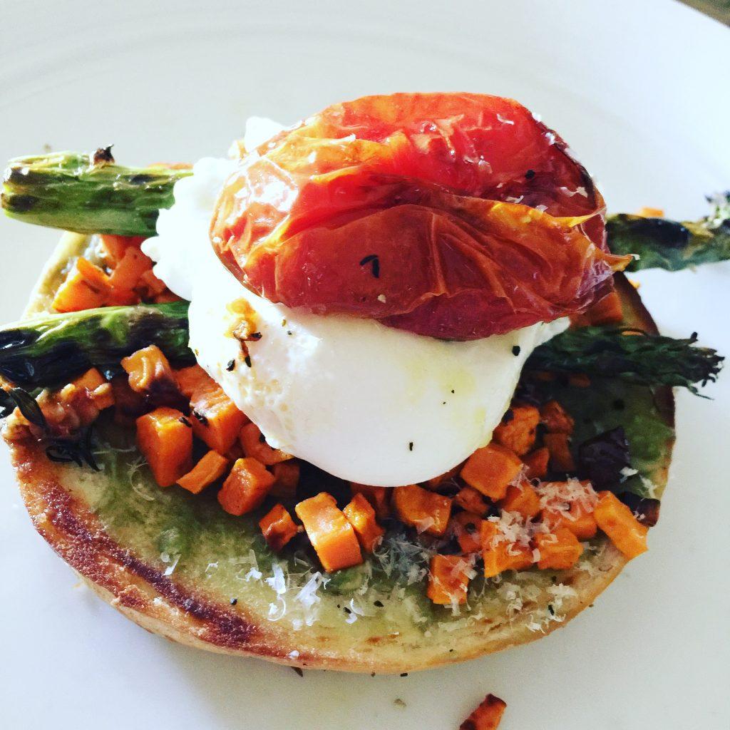More than just avocado toast - Photo by Jill Weinlein