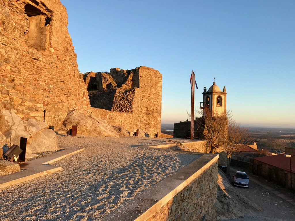 The ancient fort at Castle Rodrigo.