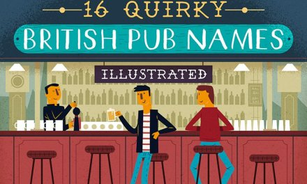 16 quirky British pub names illustrated