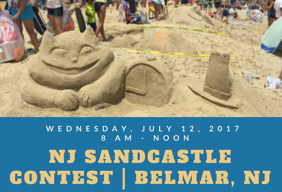 Enter New Jersey Sandcastle Contest July 12