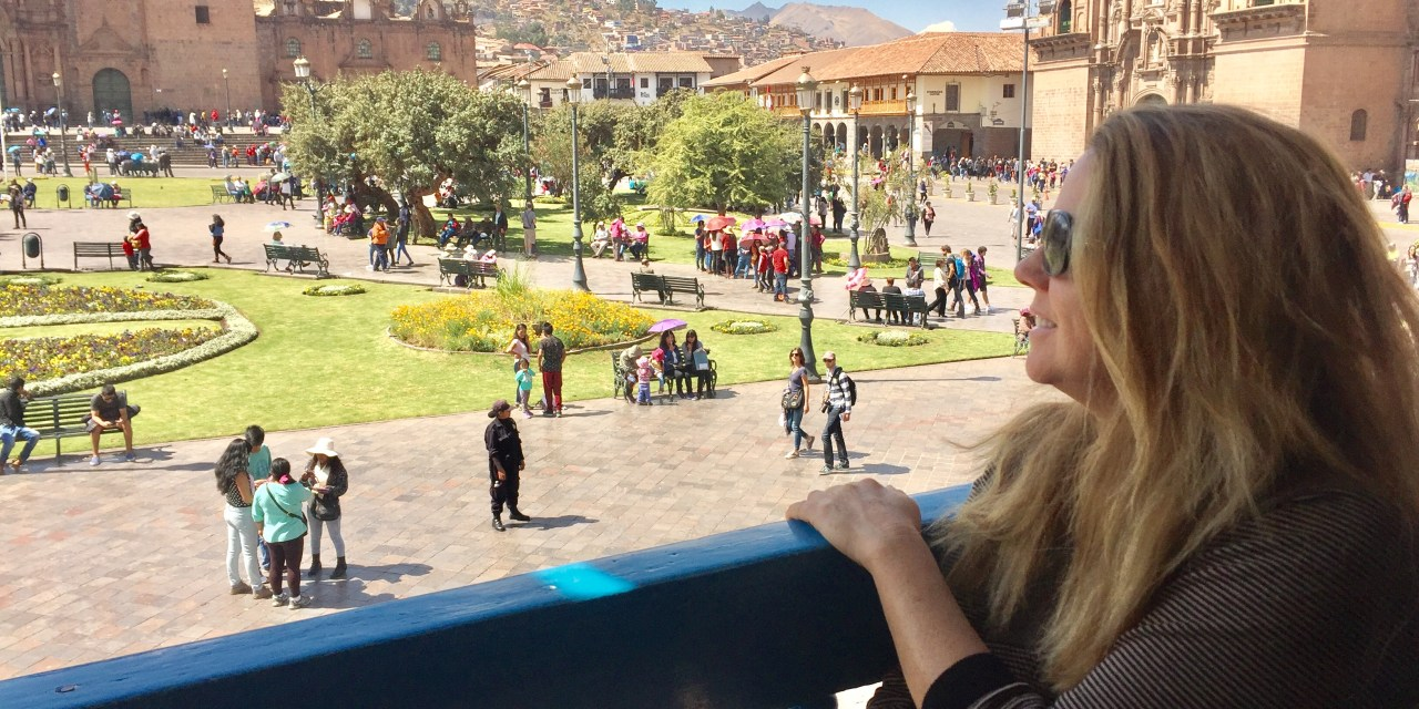 Staying in a Mansion in Cusco, Peru