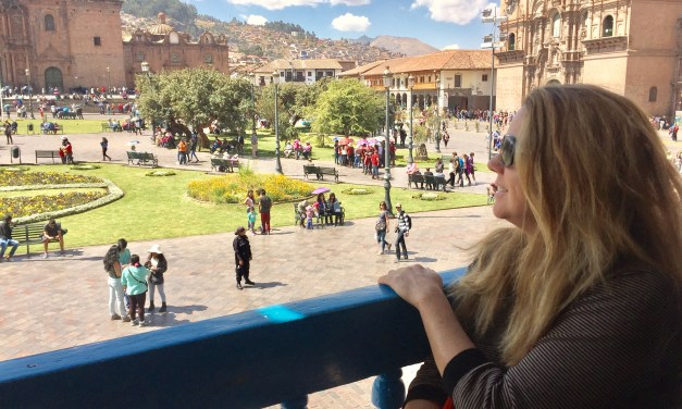 Staying in a Mansion in Cusco, Peru