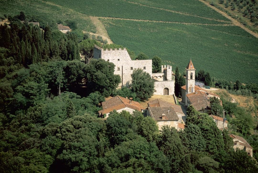 The Nipozzano Castle