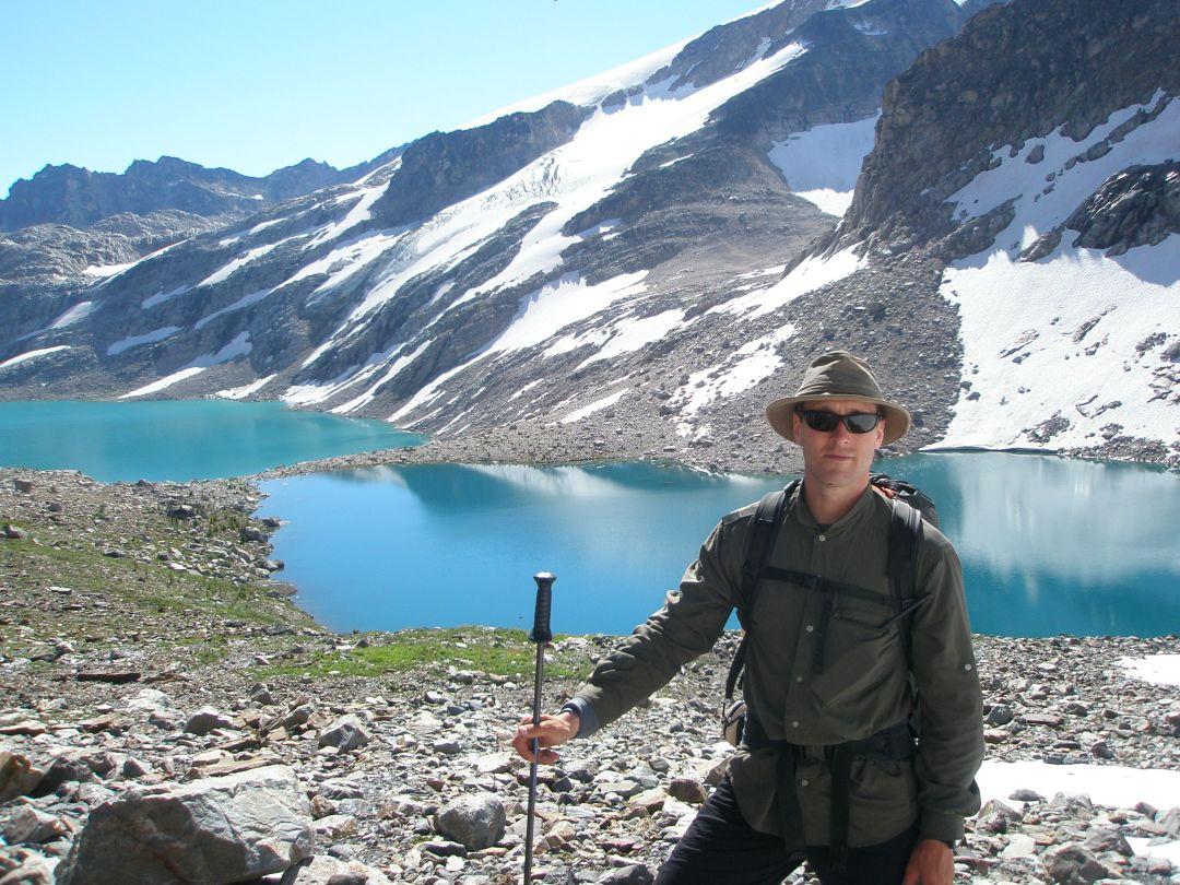 Heli-hiking-in-the-Bugaboo Debbie Stone