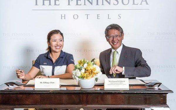 The Peninsula Hotels announces partnership with Hong Kong LPGA golfer Tiffany Chan