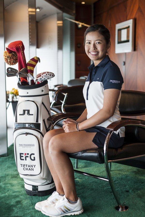 iffany Chan in The China Clipper at The Peninsula Hong Kong (Photo Credit: Chris Lusher)