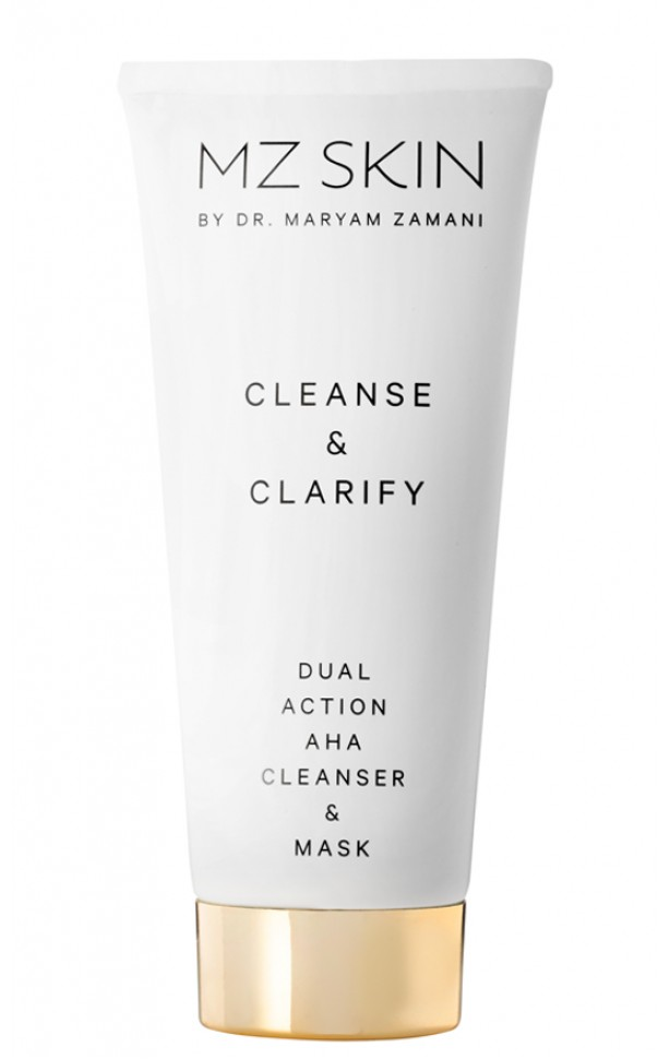 MZ SKIN - Cleanse & Clarify Dual Action AHA Cleanser & Mask