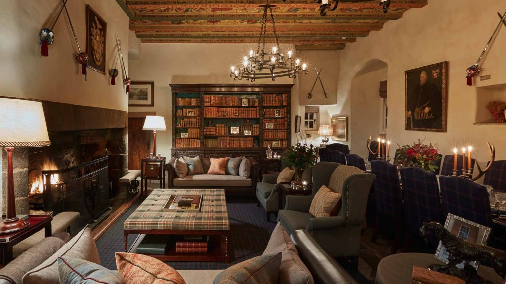 Forter Castle lounge