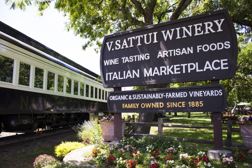 Photo credit: Courtesy of the Napa Valley Wine Train V Sattui Winery