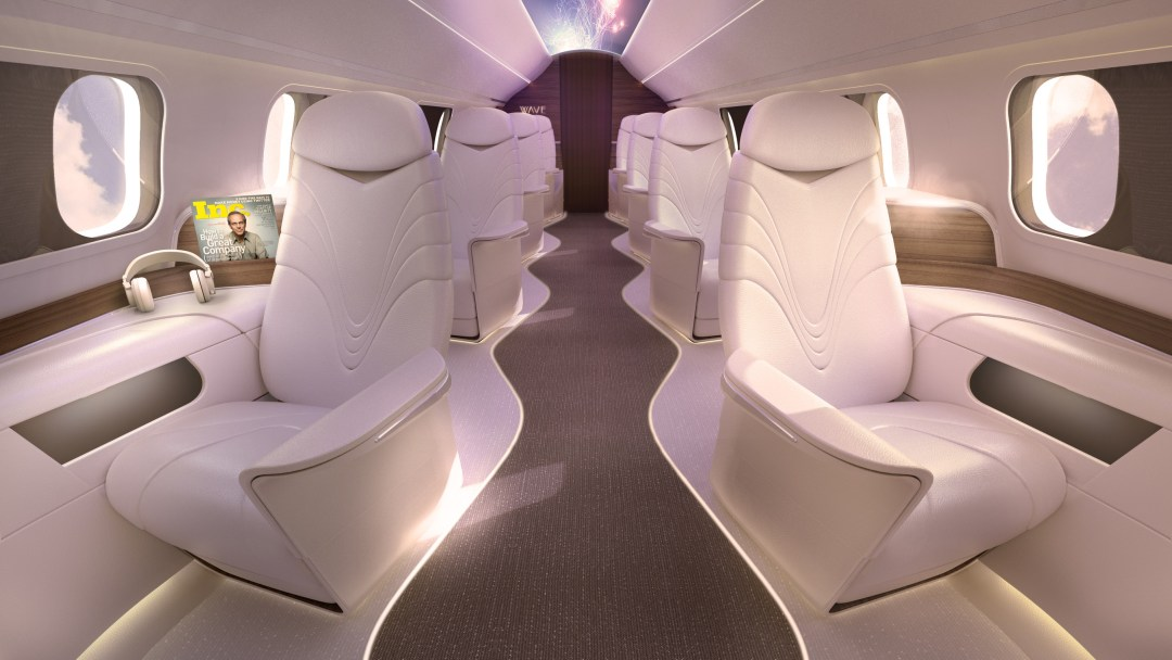 AURA brings first-of-its-kind style to the skies at affordable prices. (PRNewsfoto/ZED Aerospace)