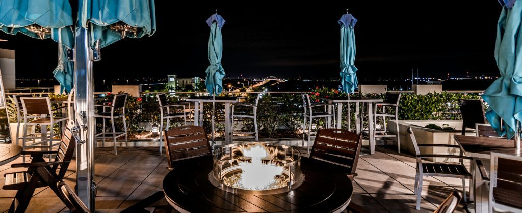 The Wyvern Hotel Rooftop Lounge