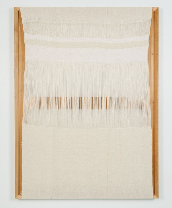 Untitled (exposed warp), (Frances Trombly, 2015),  courtesy of the artist and Emerson Dorsch Gallery
