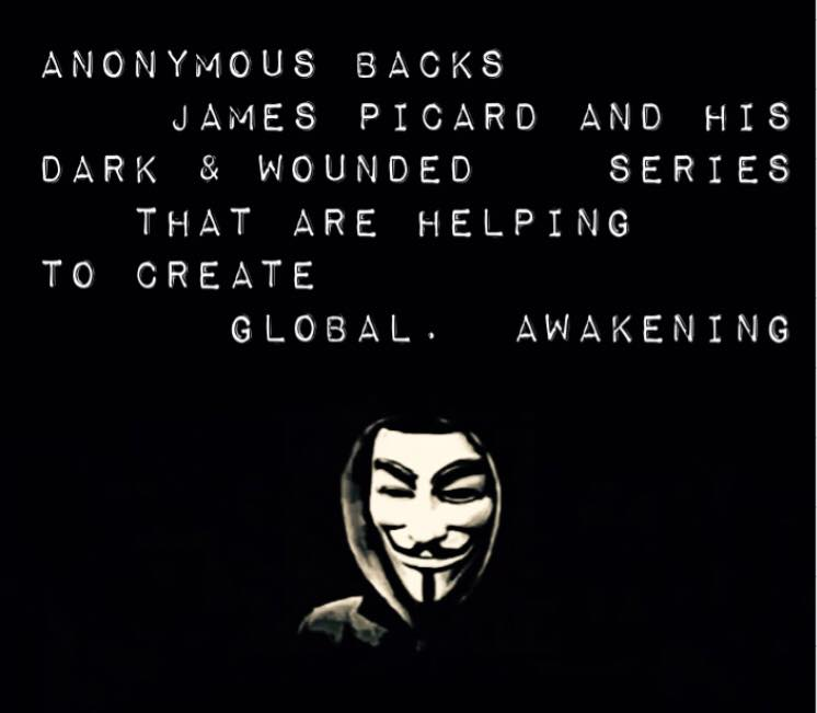 Anonymous Endorses Dark & Wounded