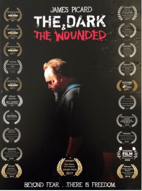 Dark & Wounded Poster James Picard Award Wins