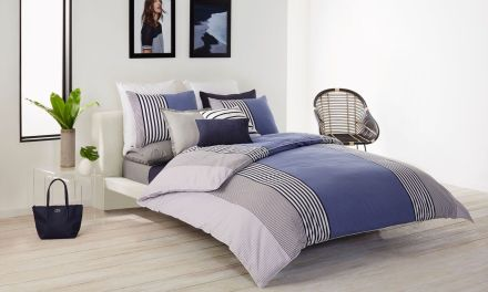 Create a Summertime Bedroom With Lacoste and Saaya