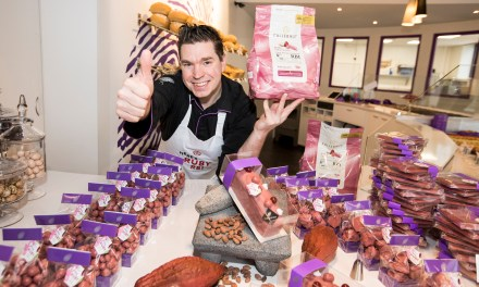 First Ruby Chocolate for Chocolatiers and Pastry Chefs, in Hong Kong