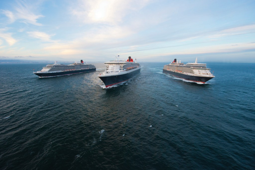 The Cunard Fleet