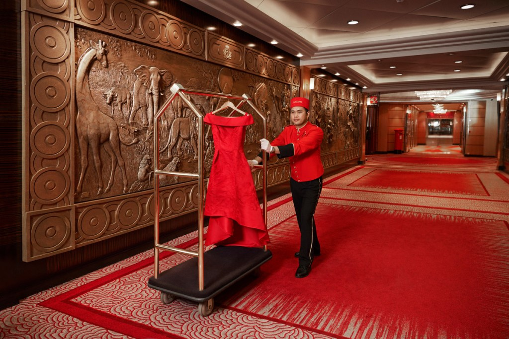 Cunard VIP service