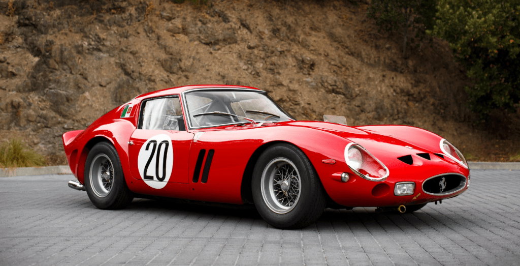 Ferrari 250 GTO Most Expensive Classic Cars