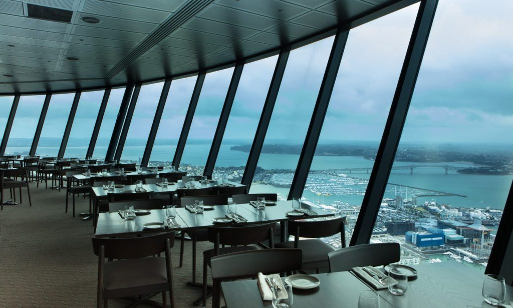 Aucklands Sky Tower 360 dining copyright eatnewzealand
