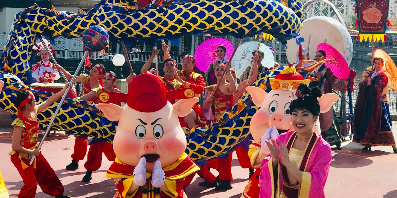 Lunar New Year at Disneyland