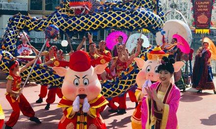 Lunar New Year at Disneyland